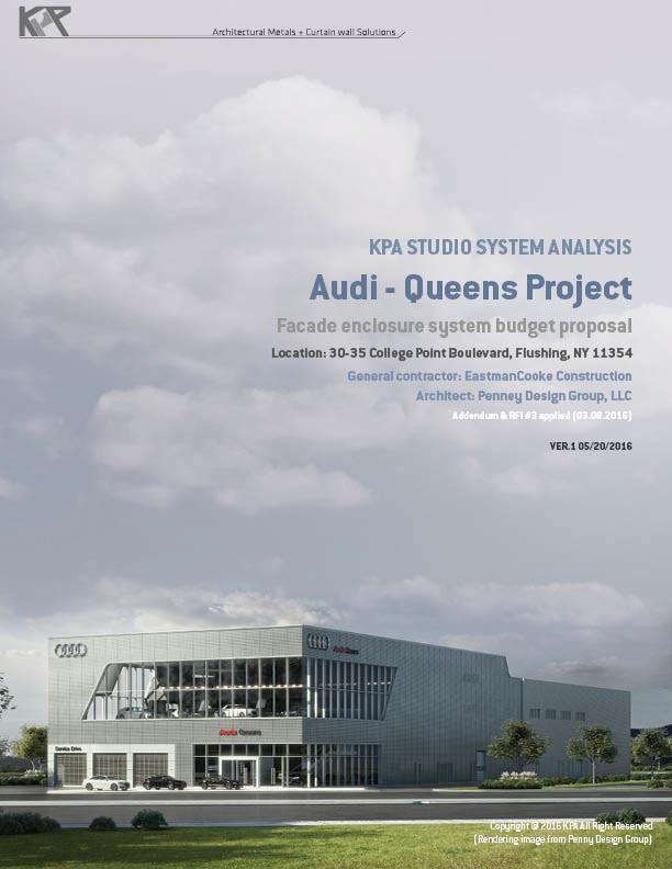 Audi Queens Plaza Da Jeong Park - Audi queens