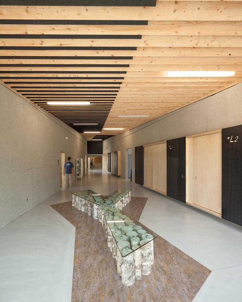 p le scientifique du lyc e nature dlw architectes la roche sur yon 85 fran ois dantart. Black Bedroom Furniture Sets. Home Design Ideas